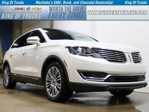 2016 Lincoln MKX Reserve | AWD | Navigation | Cooled Seats
