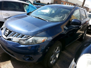 2009 Nissan Murano with Dual Sunroof and push Start