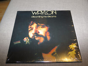 Waylon Jennings Dreaming my Dreams Vinyl LP