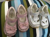 BABY GIRL ITALIAN LEATHER PRIMIGI SHOES METALLICS FLEXI ANTISHOCK