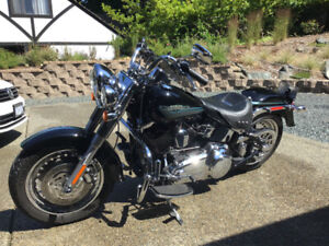 2009 Harley FLSTF. Fatboy
