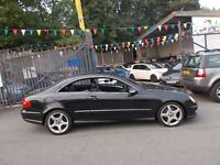 Mercedes CLK -Benz K 3.0 K320 CDI Sport 7G-Tronic GREAT PERFORCE 05/55 (black) 2005