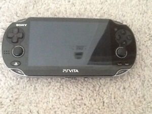 Ps vita with case and games-brand new