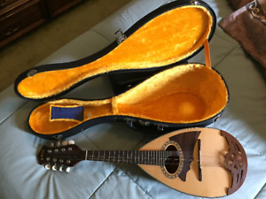 Kiso Suzuki Bowl back Mandolin