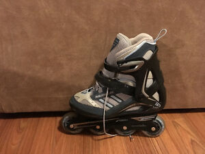 Roller blades used 1 time