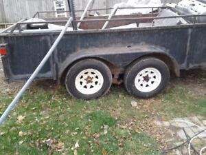 dual axle  trailer