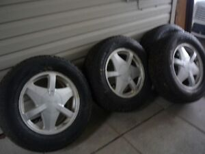 GMC Studded Winter Tires and Rims