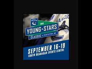 Canucks young stars tickets