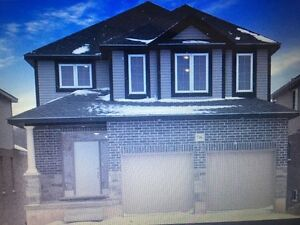 Brand New Detatched Home 3 B/R 3 wash for Rent