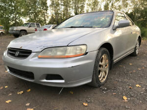 2002 Honda Accord EX ** FOR PARTS ** INSIDE & OUTSIDE**