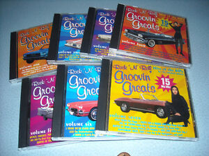 Collection of Groovin' Greats CD