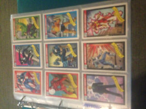 Marvel collector cards 90s