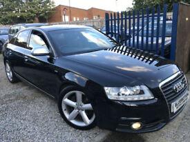 ✿10-Reg Audi A6 Saloon 2.0 TDI E S Line, Black, Diesel ✿FULLY LOADED ✿TOP SPEC✿