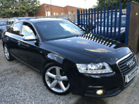 ✿10-Reg Audi A6 Saloon 2.0 TDI E S Line, Black, Diesel ✿FULLY LOADED ✿TOP SPEC✿