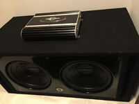 Two Subs Glossy Box and Amp