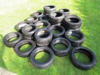 25 Part Worn Tyres Michelin Pirelli Continental 18 19 20 21 BMW Audi Land Rover