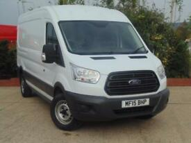 2015 Ford Transit 2.2 TDCi 125ps L3 H2 Van 4 door Panel Van