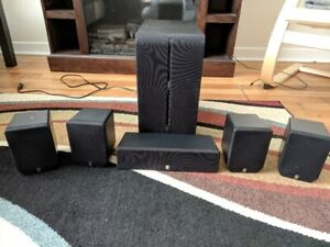 Yamaha 5.1 speakers