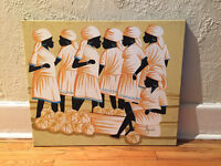 Painting of Dominican Women $15 OBO