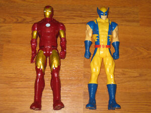 "Iron Man and Wolverine 12"" Action Figures Sarnia Sarnia Area image 1"