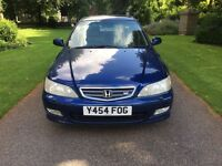 2001 Y REG HONDA ACCORD 2.3 AUTO TYPE V