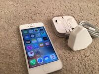 IPhone 5- 16GB- unlock to all networks- great condition