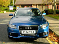 2011 61 Audi A4 2.0TDI ( 170ps ) quattro Technik WITH LEATHER+SATNAV+HIGH SPEC++