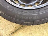 Skoda Yeti Spare Wheel