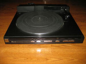 Mitsubishi LT-46 Turntable Tested