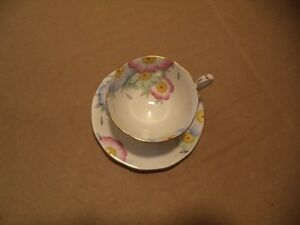 QUEEN ANNE TEA CUP AND SAUCER Windsor Region Ontario image 1