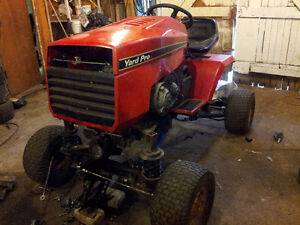 project lifted lawn mower 80hp