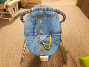 Blue Bouncy Baby Chair $10 OBO