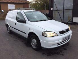 2003 Vauxhall Astra van 1.7dti *FULL MOT*ROOF RACK*