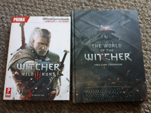 The Witcher guide books