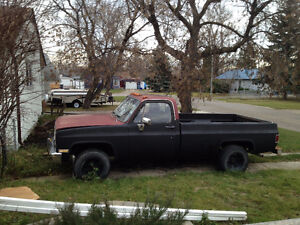 1981 Chev Pick Up rolling chassis