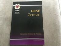 GCSE German revision book/CD £10.0