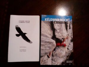 Kelowna rock climb book / cougar canyon