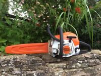 New stihl chainsaw for sale.