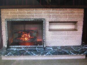 Vintage Imitation Fireplace