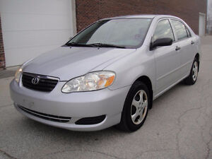 2005 TOYOTA COROLLA, 127K ONLY, AUTO / CERTIFIED