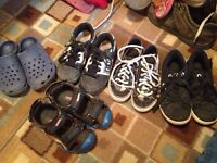 5 pairs of size 12 shoes