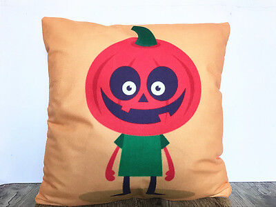 1x Simple painting Halloween Home Decor sofa Cushion Covers Pillow Case 18X18'