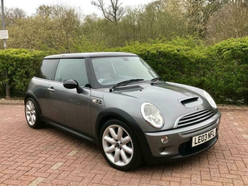 2003 Mini 16 Cooper S R53 Grey Black Roof Supercharged Low