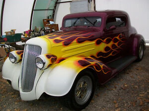 1934 Olds. Three Window Coupe  Streetrod