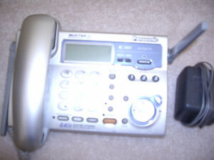Panasonic 2.5 GH Land line phone with the base 25 for sale or OB