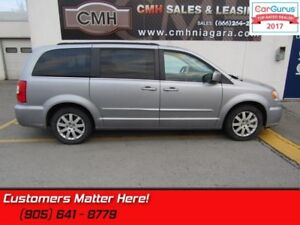 2016 Chrysler Town  Country Touring  STOW N GO, POWER SLIDERS  G