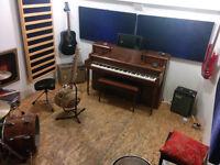 studio de répétition pour musiciens, insonorisé
