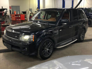 2011 RANGE ROVER SPORT HSE LUX NAV|BACK UP|ACCIDENT FREE|LOADED|