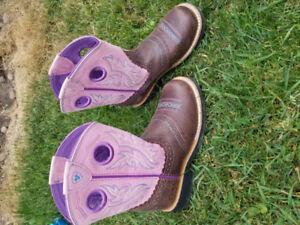 Girls size 13 cowboy boots