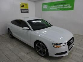 White Audi A5 2.0TDI Sportback ***FROM £74 PER WEEK***